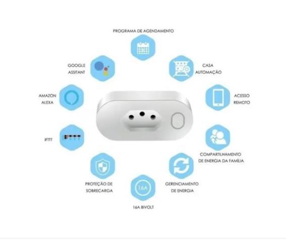 Imagem de Tomada Inteligente Wifi Smart 16a App Alexa Google Home