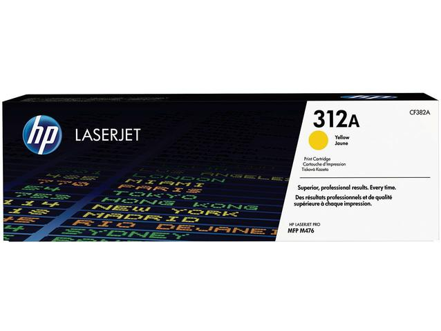Imagem de Toner HP Amarelo 312A LaserJet