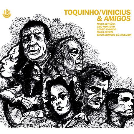 Imagem de Toquinho e Vinicius - Toquinho Vinicius  Amigos  - CD