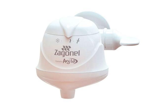 Imagem de Torneira Elétrica Agile de Parede 220V 4500W Zagonel