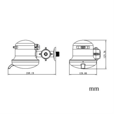 Imagem de Torneira Elétrica Lorenzetti Maxi Torneira 3 Temperaturas 5500W 220V