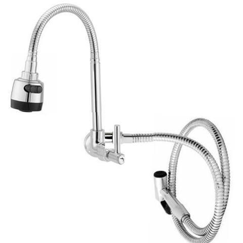 Imagem de torneira gourmet com ducha manual flexivel area lazer churrasco