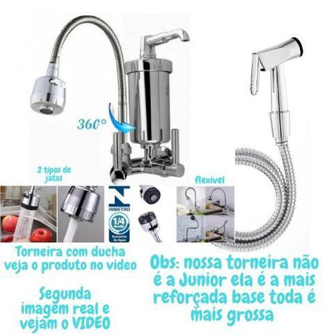 Imagem de Torneira Gourmet Metal Ducha Mangueira para Churrasco, Área Lazer GPAD