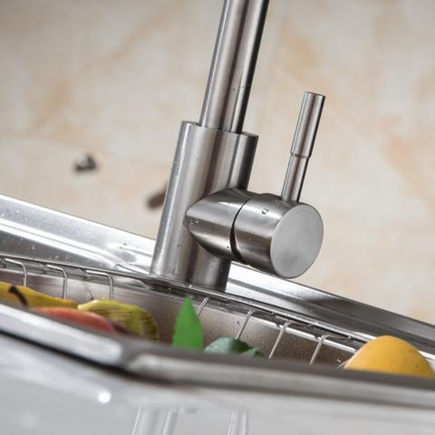 Imagem de Torneira Inox Escovado Cozinha Misturador Monocomando.