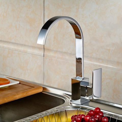 Imagem de Torneira Misturador Monocomando Cozinha Bica Alta Atenas - Premierdecor