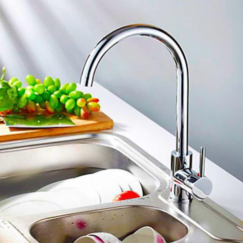 Imagem de Torneira Misturador Monocomando Cozinha Bica Alta Italy - Premierdecor