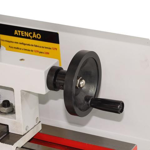 Imagem de Torno Mecânico 350mm 550w Monofásico 220v 60hz