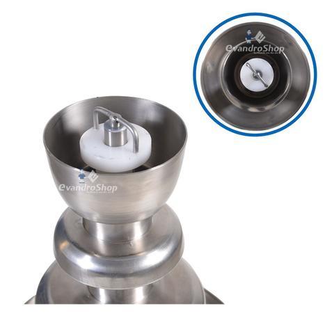 Imagem de Torre Cascata De Chocolate 4 Kg Aço Inox Bivolt Sorveteria Confeitaria - Ademaq