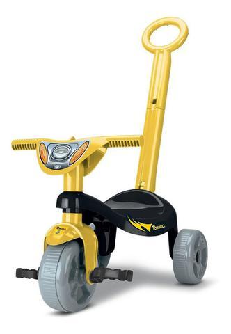 Imagem de Totokinha Triciclo Motoca Brinquedo Infantil Velotrol C/ Hast - Morceguinho - Ref - 0603
