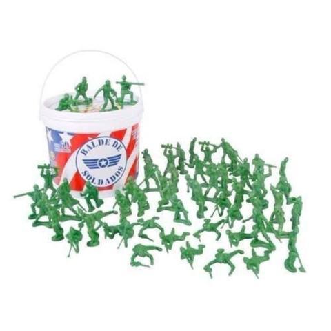 Imagem de Toy Story Balde Com Soldados 60 Peças Toyng