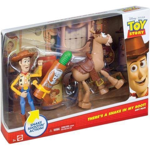 Imagem de Toy Story Woody e Bala no Alvo BFP08 Mattel