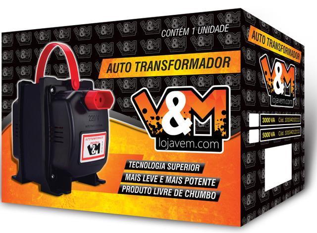 Imagem de Transformador 2000VA Bivolt 110/220 e 220/110 V&M Ref: 2000 VA