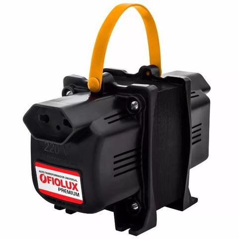 Imagem de Transformador Fiolux Premium 5000VA Bivolt 110/220 e 220/110 Ref: 5000 VA