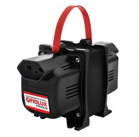 Imagem de Transformador Fiolux Premium 500VA Bivolt 110/220 e 220/110 Ref: 500 VA