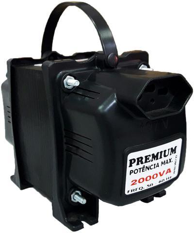 Imagem de Transformador Fiolux Premium Tripolar 2000VA Bivolt 110/220 e 220/110 Ref: 2000 VA