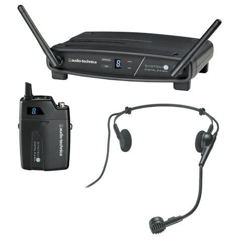 Imagem de Transmissor com receptor sem fio headset audio-technica atw-1101/h - freq. 2.4 ghz