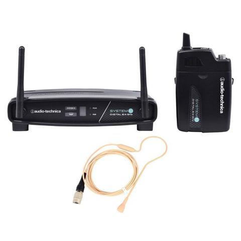 Imagem de Transmissor com receptor sem fio headset audio-technica atw-1101/h92-th - freq. 2.4 ghz