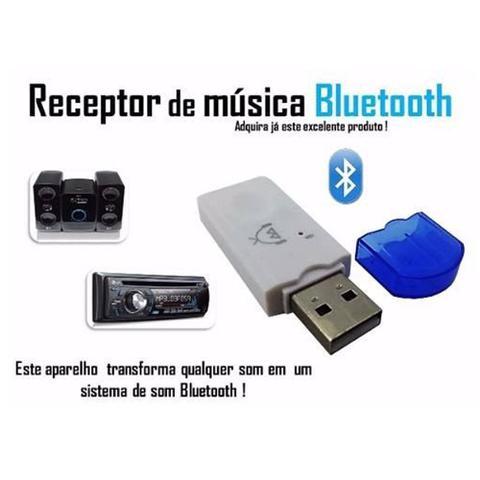 Imagem de Transmissor Receptor Bluetooth Usb Adaptador Musica Carro2