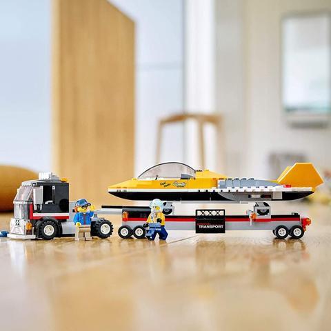 Imagem de Transportador de Avião de Acrobacias Aéreas Lego City