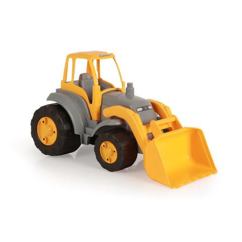 Imagem de Trator Infantil Maxtor Plus Vermelho e Amarelo Homeplay