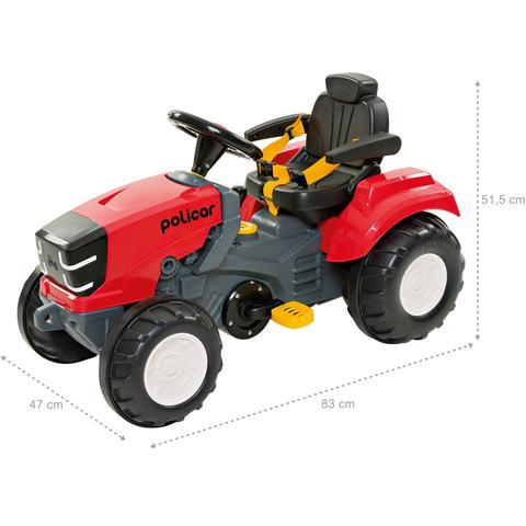 Imagem de Trator Pedal Politractor Vermelho - Poliplac