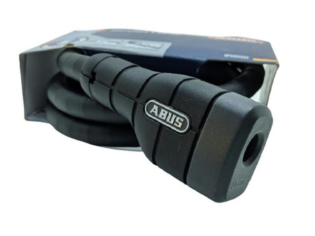 Imagem de Trava articulada cadeado c chave p/ roda capacete moto 6615k