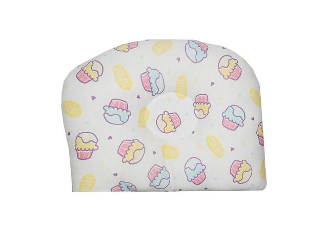 Imagem de Travesseiro Anatômico para Bebê Estampa CupCakes