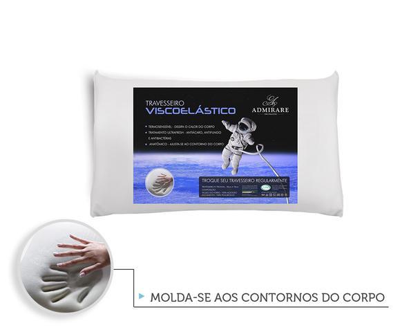 Imagem de Travesseiro Antialergico Viscoelastico Nasa  Admirare