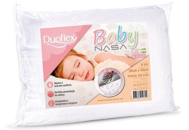 Imagem de Travesseiro Baby Nasa Kids Impermeável - Bb1002 - Duoflex