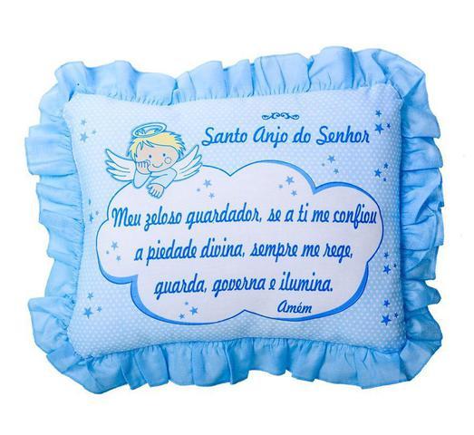 Imagem de Travesseiro bebê oração - cia do nenem