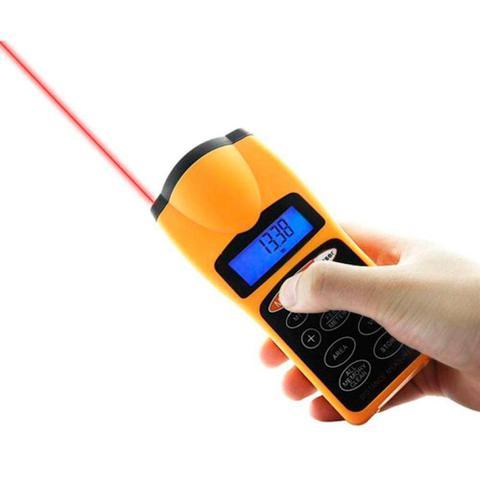 Imagem de Trena Digital Laser Alta Precisão Medidor A Distancia Ultra-sonica
