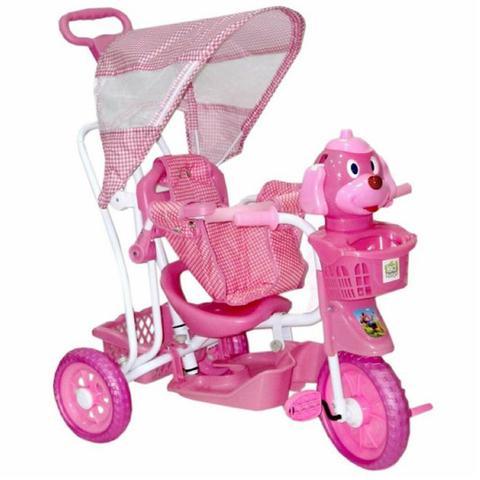 Imagem de Triciclo Infantil 3x1 Vira Gangorra Belfix