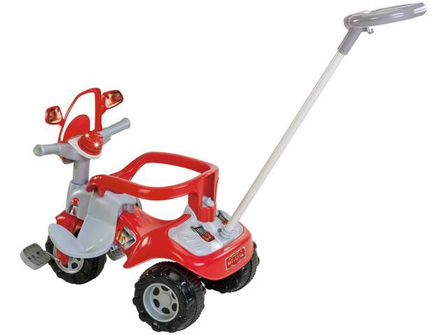 Imagem de Triciclo Infantil Bombeiro Tico Tico Zoom