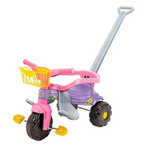 Imagem de Triciclo Infantil Tico Tico Rosa Menina