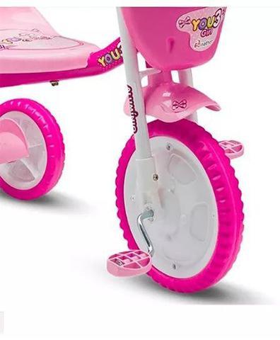 Imagem de Triciclo Infantil You Girl Rosa - Nathor