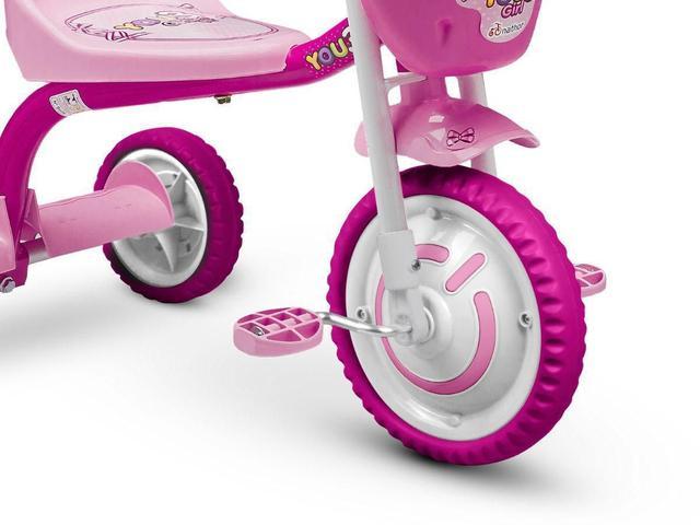 Imagem de Triciclo Motoca Infantil Menina You Girl Rosa Nathor