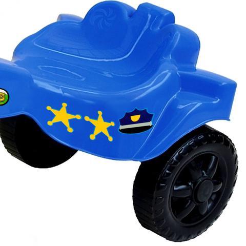 Imagem de Triciclo Motoca Infantil Menino Policial Azul - Kepler