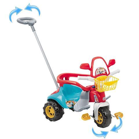 Imagem de Triciclo Motoca Infantil Tico Tico Magic Toys Menino Azul 2710 - Magic Toys