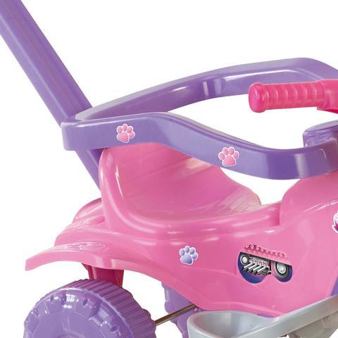 Imagem de Triciclo Tico Tico Pets Rosa Motoca Infantil - Magic Toys 2811