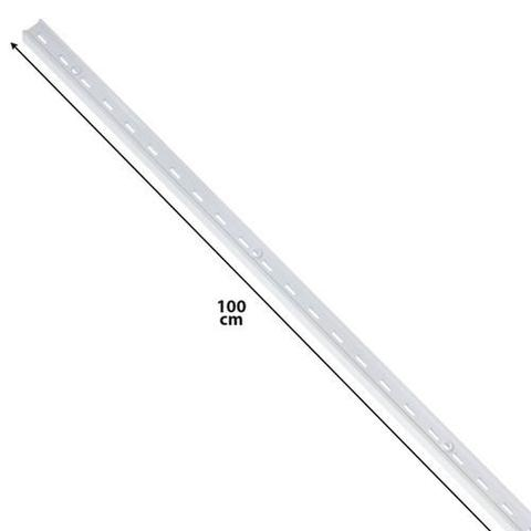 Imagem de Trilho aço versátil 200 cm branco Parede Cód. 7460