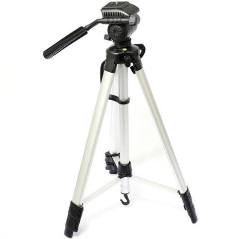 Imagem de Tripe Suporte Para Camera Filmadora E Celular Grande 1,80m Suporte Fotografico Reforcado Retratil
