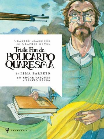 Imagem de Triste fim de policarpo quaresma - graphic novel - Nova fronteira
