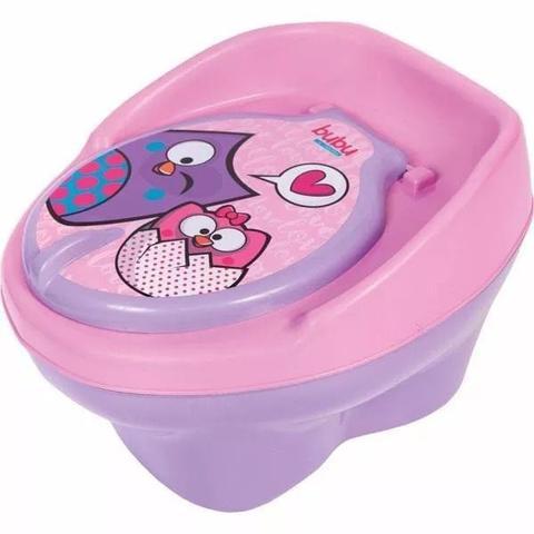 Imagem de Troninho BUBU Infantil Pinico Para Bebe 2 Em 1 Lilás/Rosa - Styll Baby