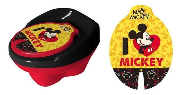 Imagem de Troninho Disney Mickey Infantil Pinico Para Bebe 2 Em 1