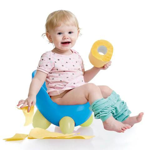 Imagem de Troninho Infantil 2 Em 1 Multilkids Baby Learn Style Azul