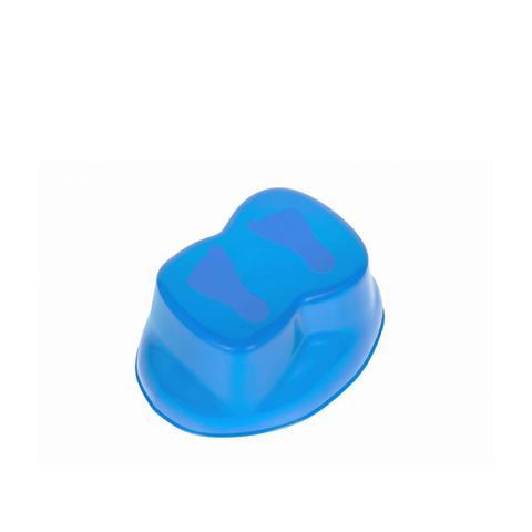 Imagem de Troninho infantil divertido azul com bichinhos musical