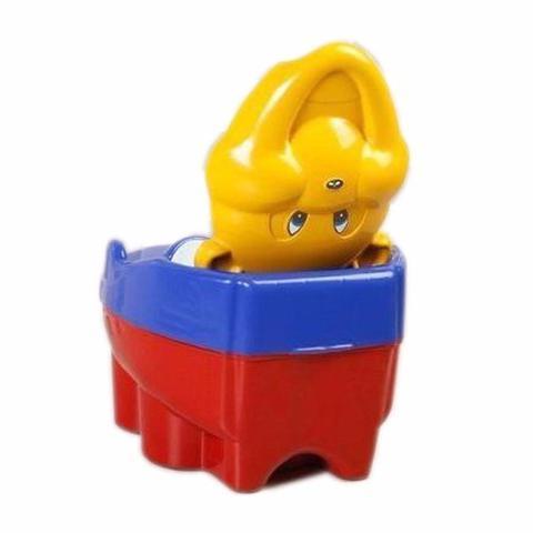 Imagem de Troninho Infantil Penico Musical 2 Em 1 Urso Vermelho Menino