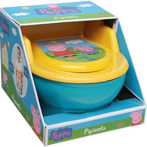 Imagem de Troninho Infantil Penico Para Bebê Meninos Meninas Desfralde Vaso Sanitário Com Tampa Pinico Removível Peppa Pig Elka