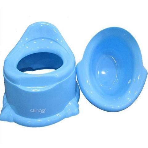 Imagem de Troninho Infantil Penico Pinico Potty Azul - Clingo