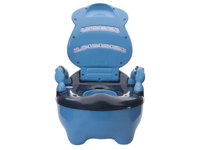 Imagem de Troninho Musical Infantil Fazendinha Azul - Prime Baby